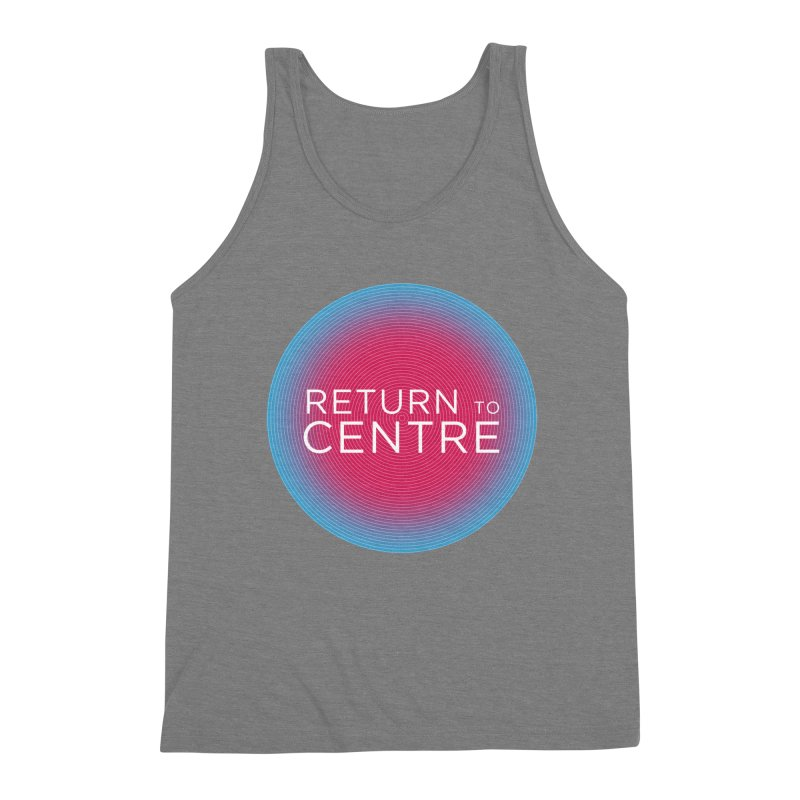 Return to Centre Men's Tank by Jost Sauer Chi Cycle Lifestyle