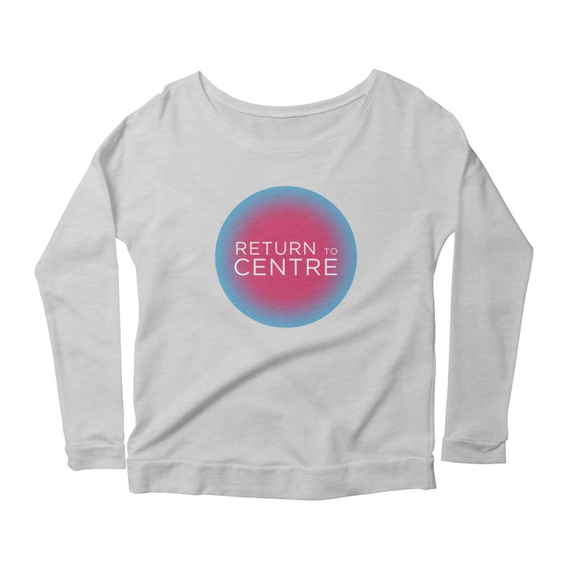 Return to Centre Women's Scoop Neck Longsleeve T-Shirt by Jost Sauer Chi Cycle Lifestyle
