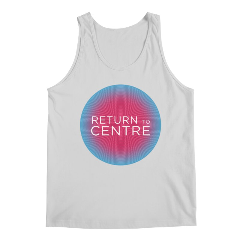 Return to Centre Men's Regular Tank by Jost Sauer Chi Cycle Lifestyle