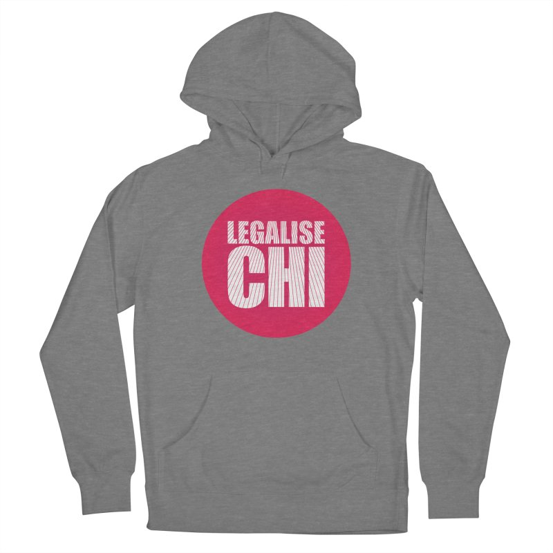 Legalise Chi Women's Pullover Hoody by Jost Sauer Chi Cycle Lifestyle