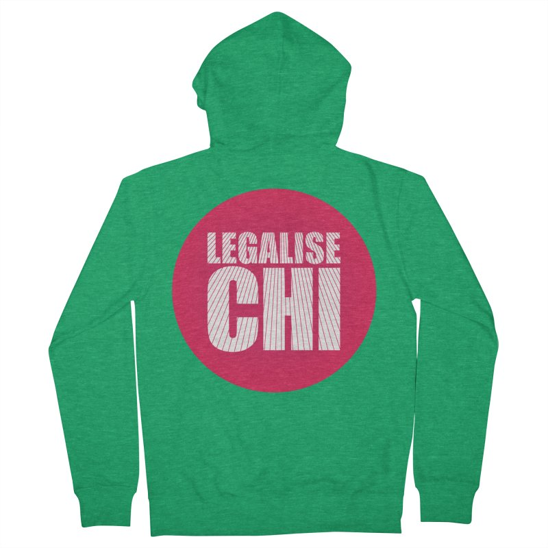 Legalise Chi Women's Zip-Up Hoody by Jost Sauer Chi Cycle Lifestyle