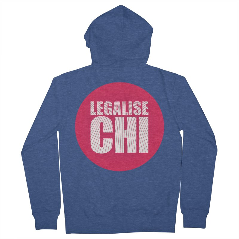 Legalise Chi Women's French Terry Zip-Up Hoody by Jost Sauer Chi Cycle Lifestyle