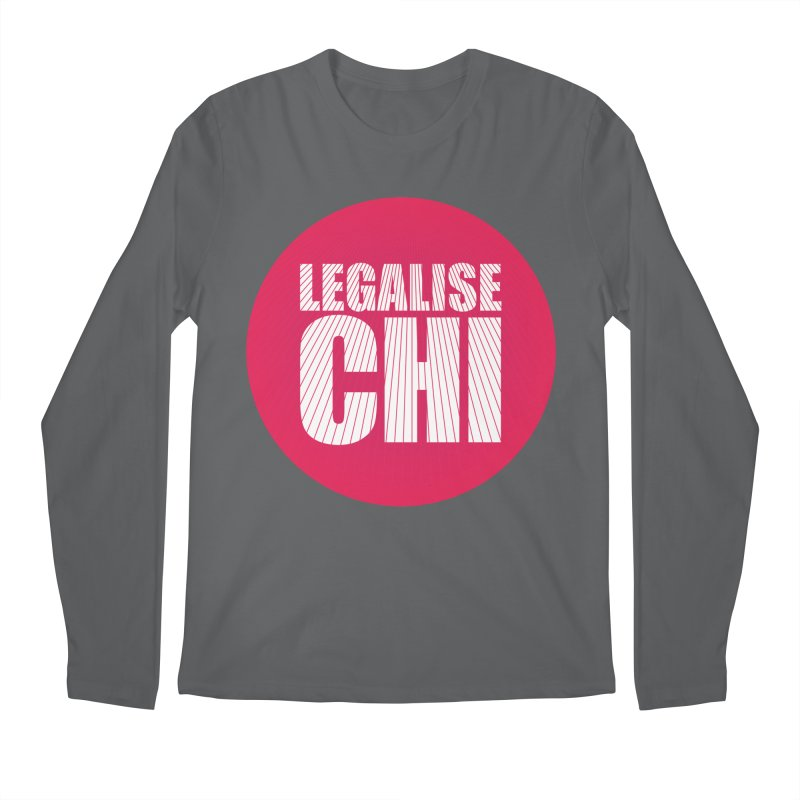 Legalise Chi Men's Longsleeve T-Shirt by Jost Sauer Chi Cycle Lifestyle