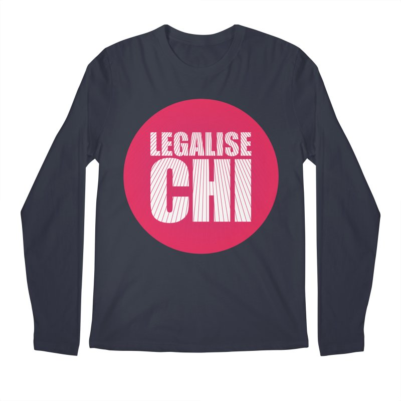 Legalise Chi Men's Regular Longsleeve T-Shirt by Jost Sauer Chi Cycle Lifestyle