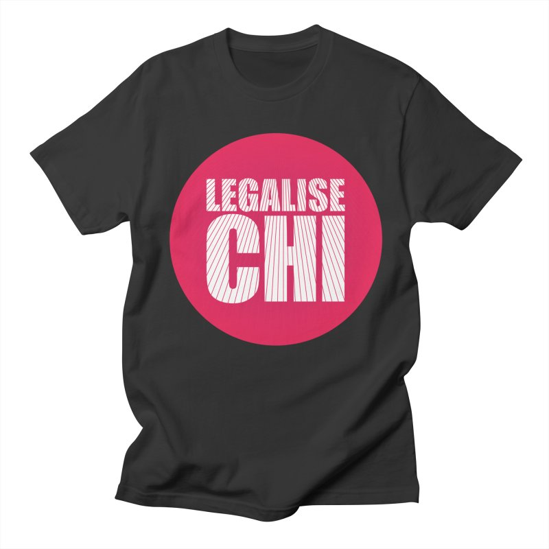 Legalise Chi Men's Regular T-Shirt by Jost Sauer Chi Cycle Lifestyle