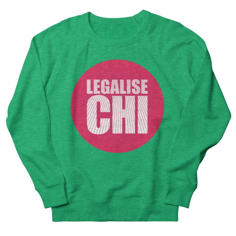 Legalise Chi Men's French Terry Sweatshirt by Jost Sauer Chi Cycle Lifestyle