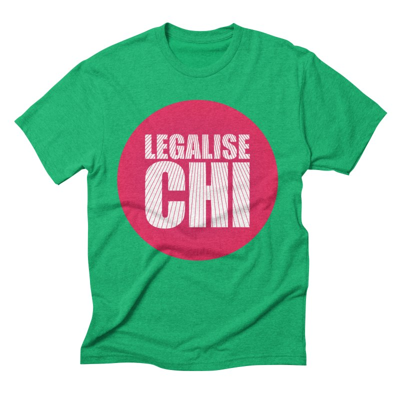 Legalise Chi Men's Triblend T-Shirt by Jost Sauer Chi Cycle Lifestyle