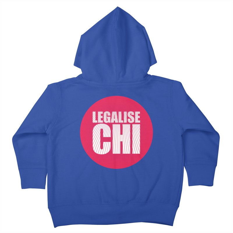 Legalise Chi Kids Toddler Zip-Up Hoody by Jost Sauer Chi Cycle Lifestyle