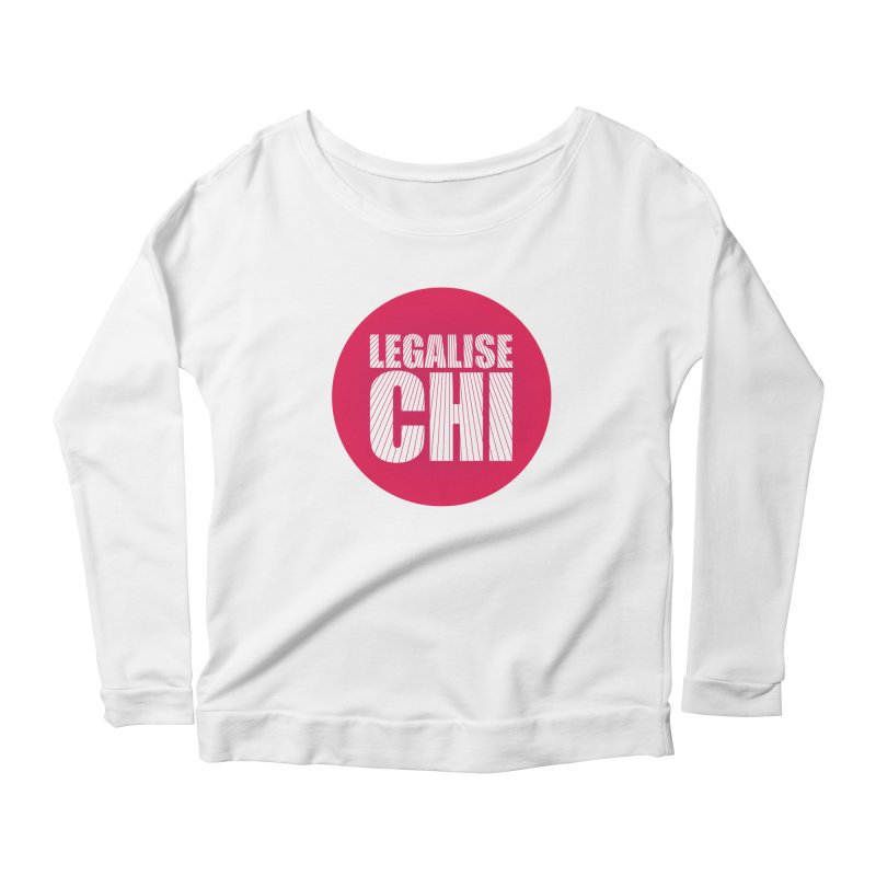 Legalise Chi Women's Scoop Neck Longsleeve T-Shirt by Jost Sauer Chi Cycle Lifestyle