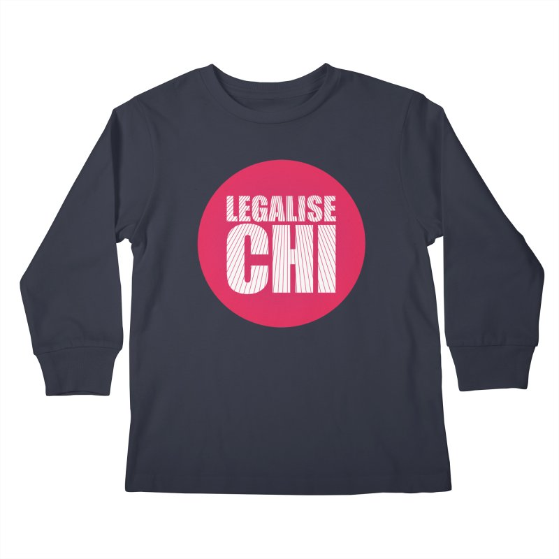 Legalise Chi Kids Longsleeve T-Shirt by Jost Sauer Chi Cycle Lifestyle