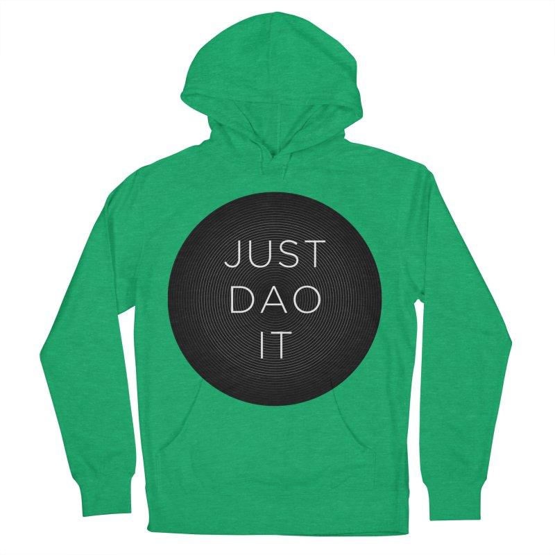 Just Dao it Women's French Terry Pullover Hoody by Jost Sauer Chi Cycle Lifestyle