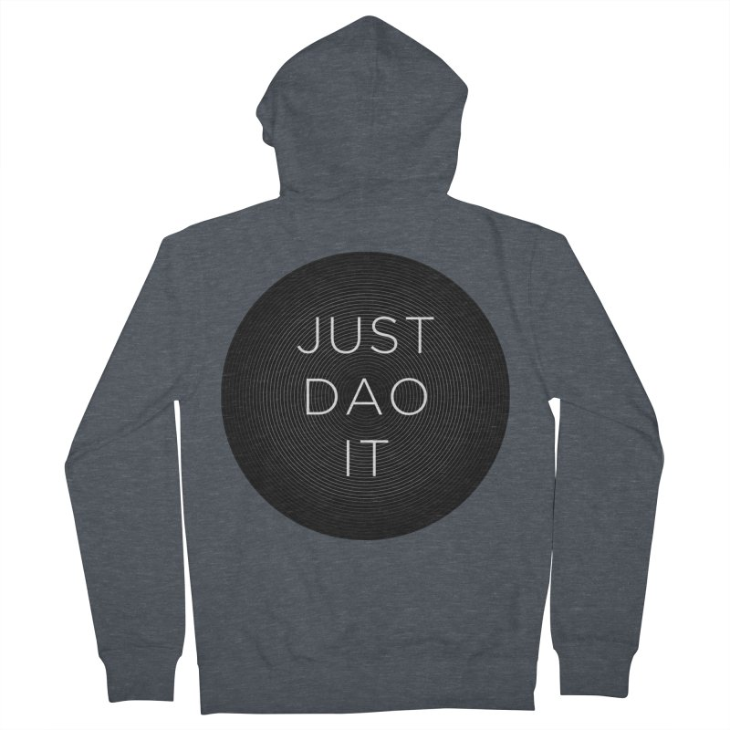 Just Dao it Women's French Terry Zip-Up Hoody by Jost Sauer Chi Cycle Lifestyle