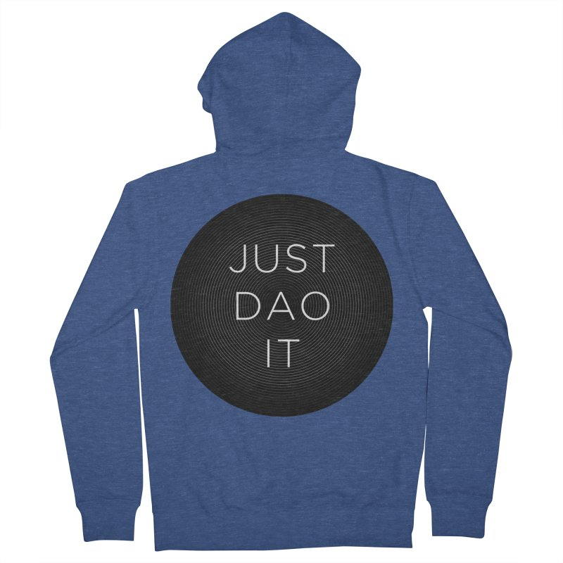 Just Dao it Men's French Terry Zip-Up Hoody by Jost Sauer Chi Cycle Lifestyle