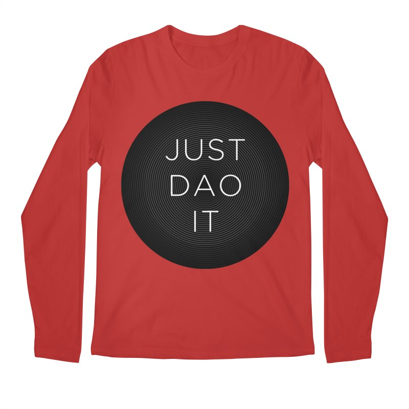 Just Dao it Men's Regular Longsleeve T-Shirt by Jost Sauer Chi Cycle Lifestyle