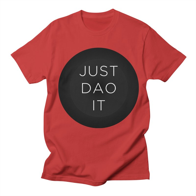 Just Dao it Men's Regular T-Shirt by Jost Sauer Chi Cycle Lifestyle