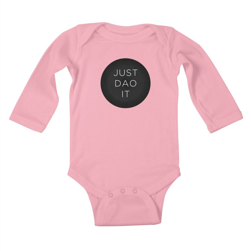 Just Dao it Kids Baby Longsleeve Bodysuit by Jost Sauer Chi Cycle Lifestyle