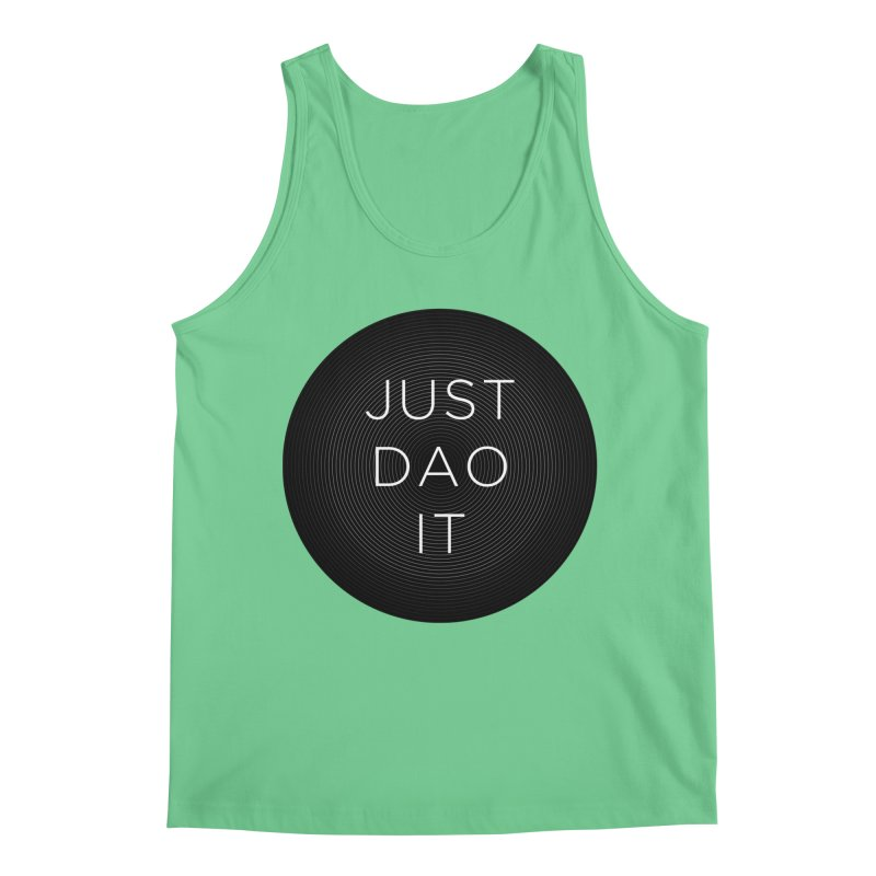 Just Dao it Men's Regular Tank by Jost Sauer Chi Cycle Lifestyle