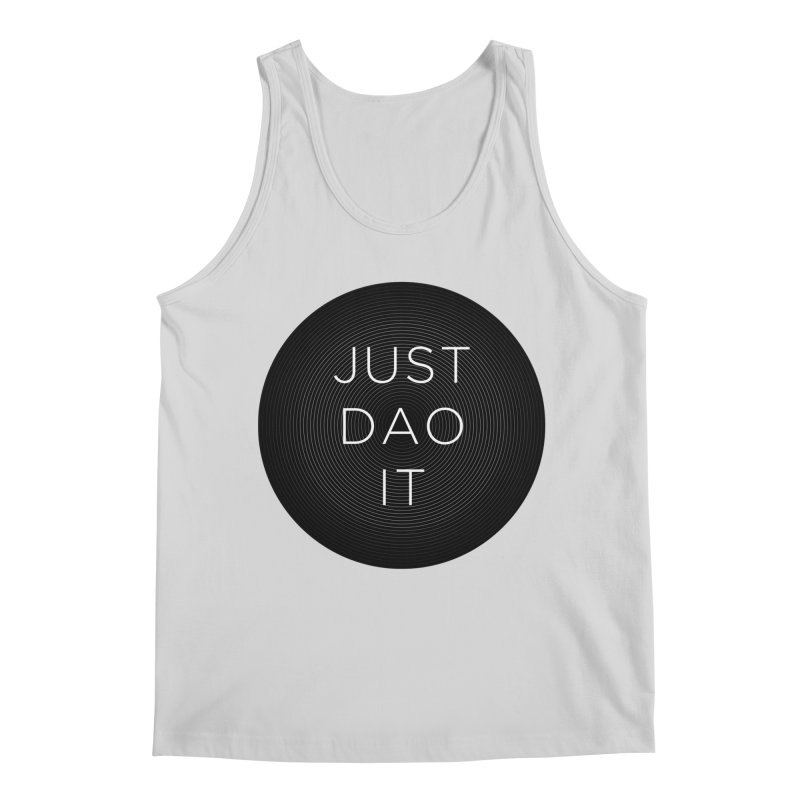 Just Dao it Men's Tank by Jost Sauer Chi Cycle Lifestyle