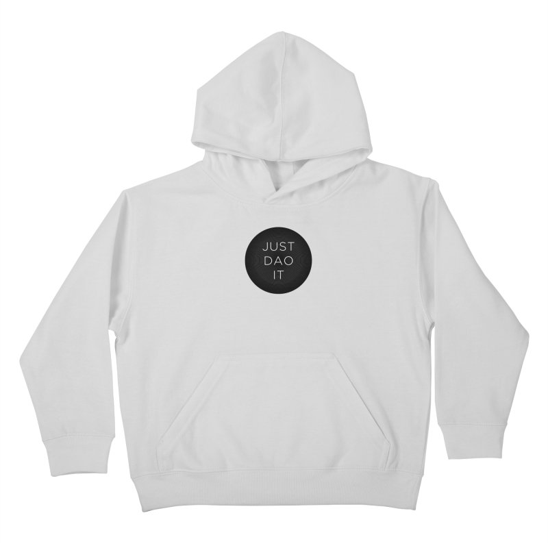 Just Dao it Kids Pullover Hoody by Jost Sauer Chi Cycle Lifestyle