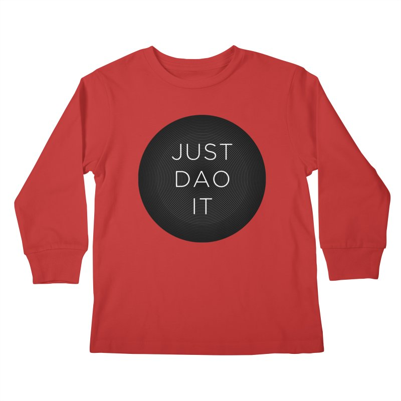 Just Dao it Kids Longsleeve T-Shirt by Jost Sauer Chi Cycle Lifestyle