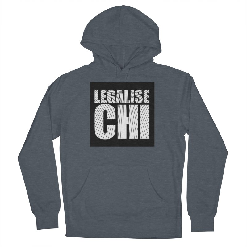 Legalise Chi Women's French Terry Pullover Hoody by Jost Sauer Chi Cycle Lifestyle