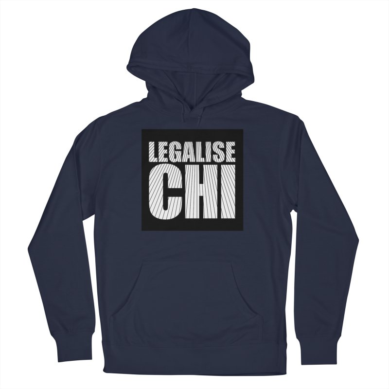 Legalise Chi Men's French Terry Pullover Hoody by Jost Sauer Chi Cycle Lifestyle