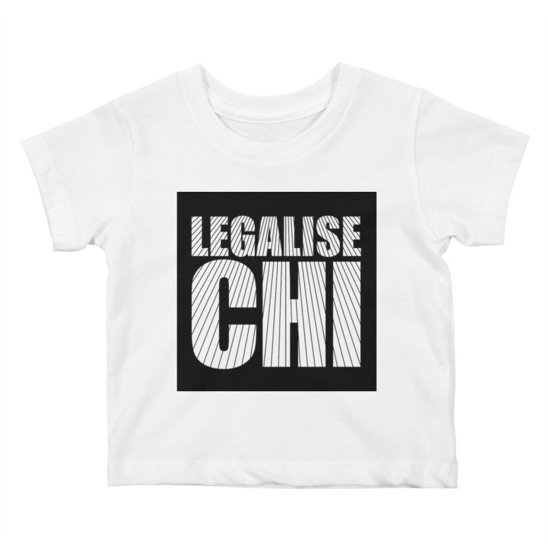 Legalise Chi Kids Baby T-Shirt by Jost Sauer Chi Cycle Lifestyle