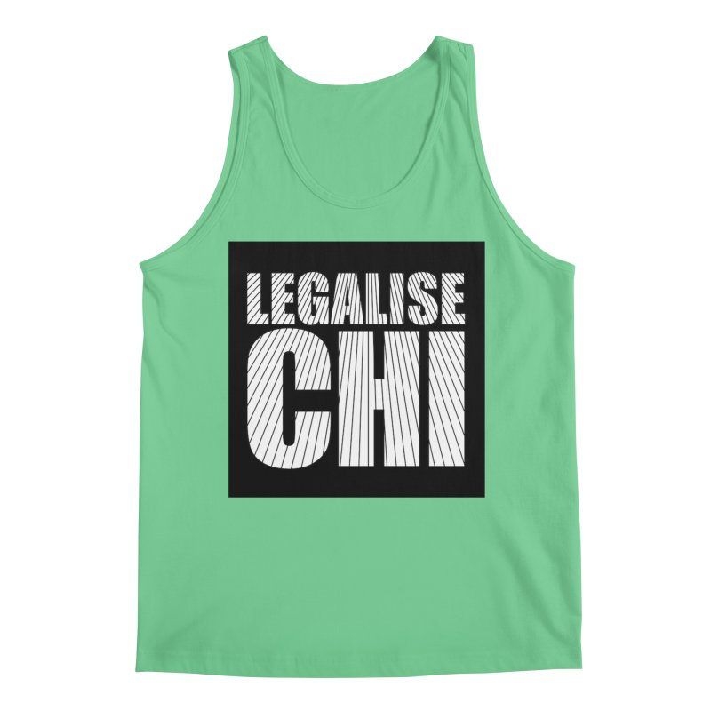 Legalise Chi Men's Regular Tank by Jost Sauer Chi Cycle Lifestyle