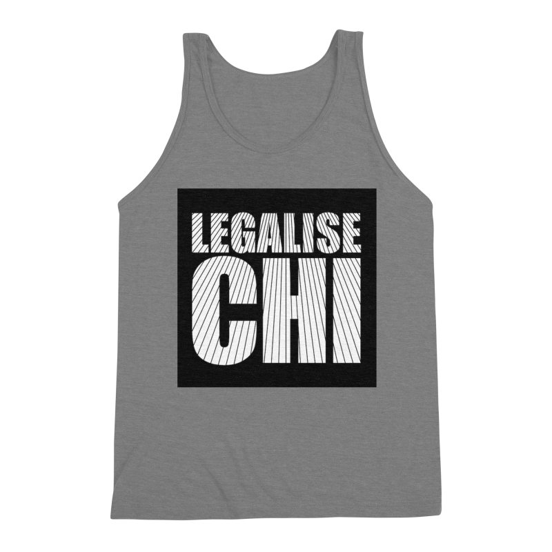 Legalise Chi Men's Tank by Jost Sauer Chi Cycle Lifestyle