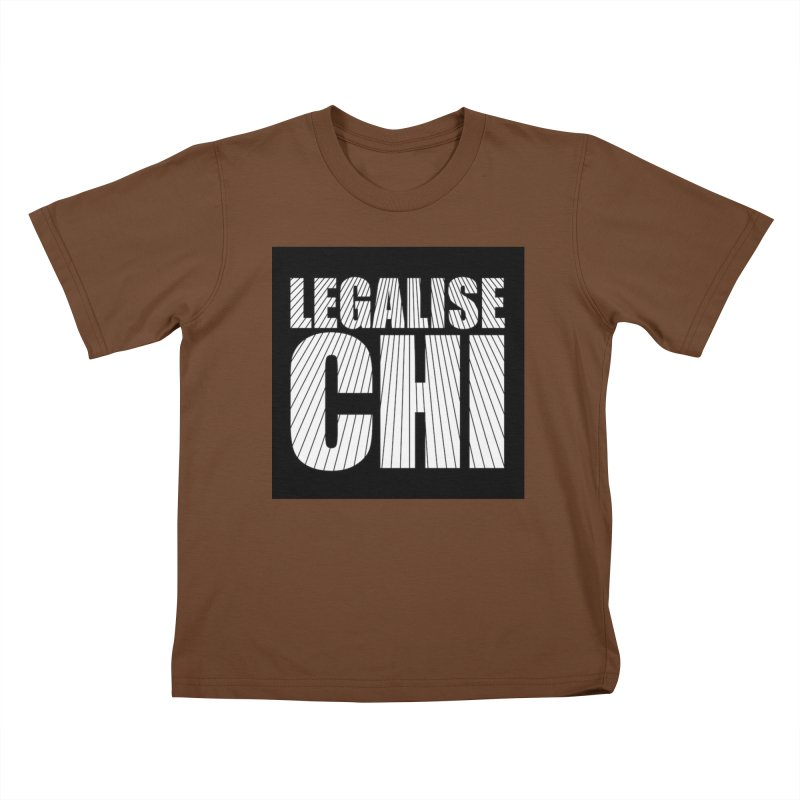 Legalise Chi Kids T-Shirt by Jost Sauer Chi Cycle Lifestyle
