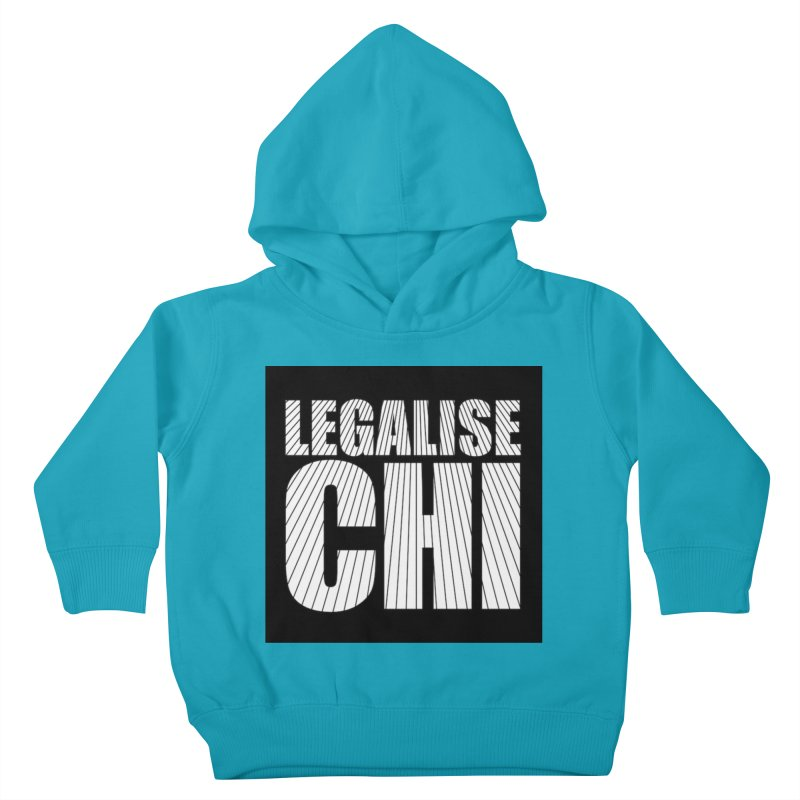 Legalise Chi Kids Toddler Pullover Hoody by Jost Sauer Chi Cycle Lifestyle