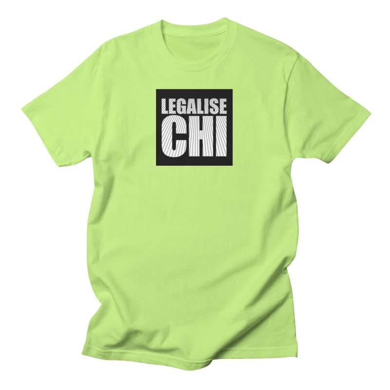 Legalise Chi Black Men's T-Shirt by Jost Sauer Chi Cycle Lifestyle