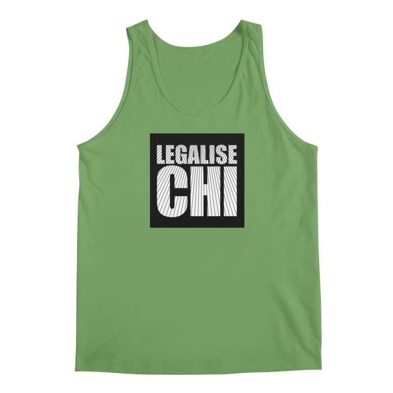 Legalise Chi Black Men's Tank by Jost Sauer Chi Cycle Lifestyle