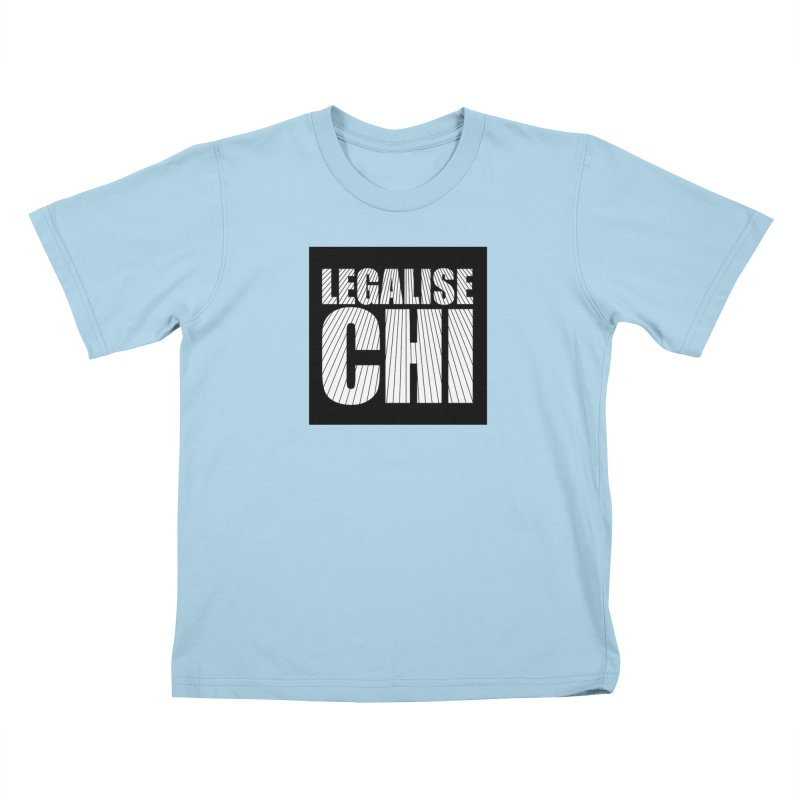 Legalise Chi Black Kids T-Shirt by Jost Sauer Chi Cycle Lifestyle