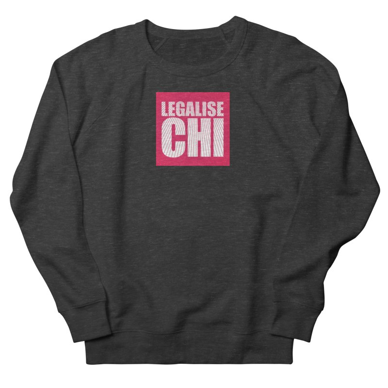 Legalise Chi Pink Men's French Terry Sweatshirt by Jost Sauer Chi Cycle Lifestyle