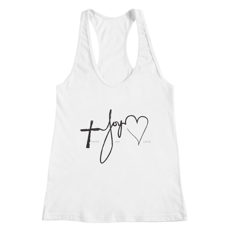 faith-joy-love Women's Tank by Journey of You - fitness and lifestyle