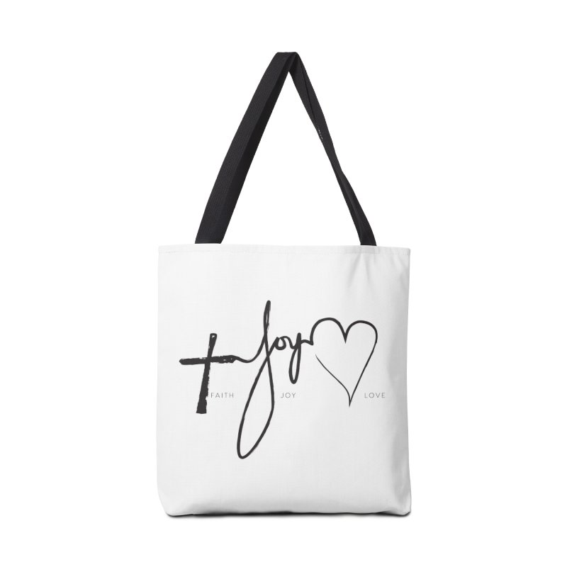 faith-joy-love Accessories Bag by Journey of You - fitness and lifestyle