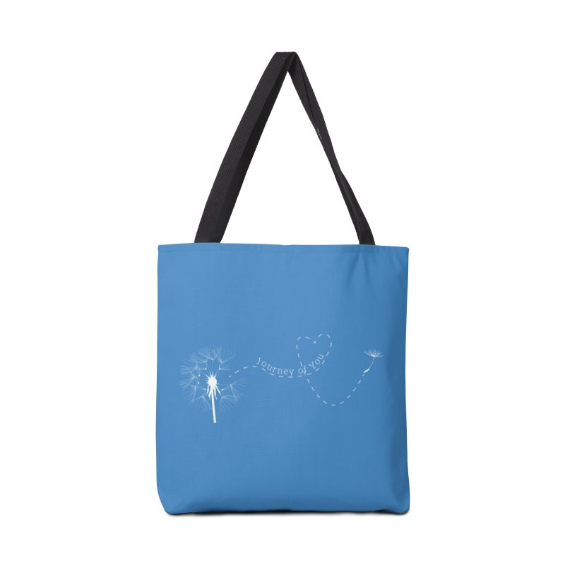 heart-path-on-color Accessories Bag by Journey of You - fitness and lifestyle