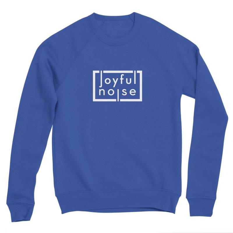 Joyful Noise Logo (White) Women's Sweatshirt by Joyful Noise Recordings