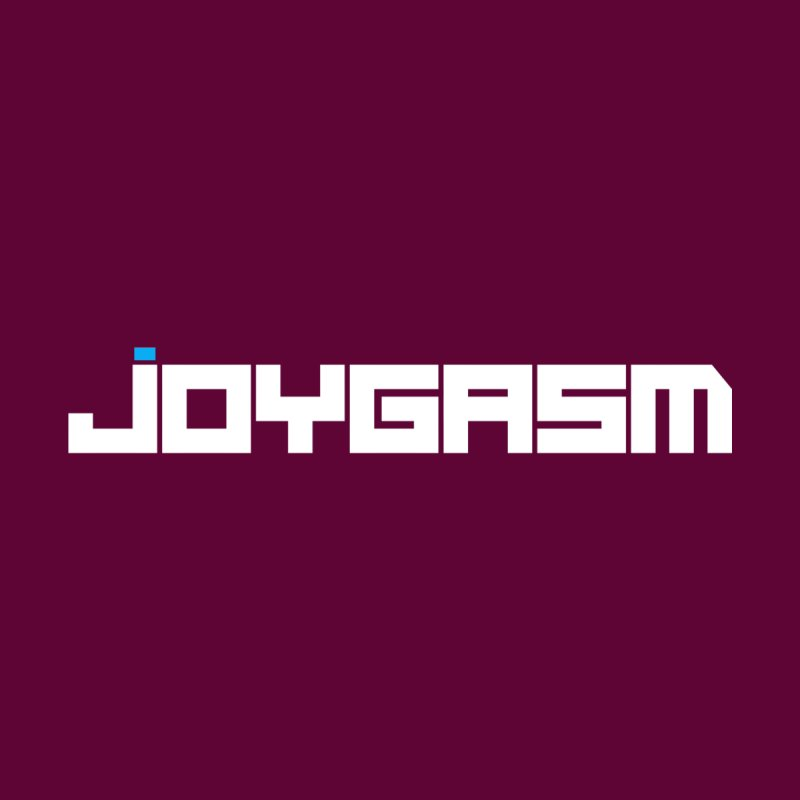 Joygasm Logo Full Name Kids Longsleeve T-Shirt by The Joygasm Store