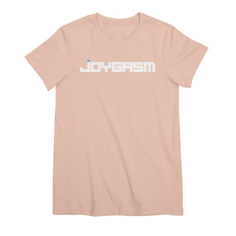 Joygasm Logo Full Name Women's Premium T-Shirt by The Joygasm Store