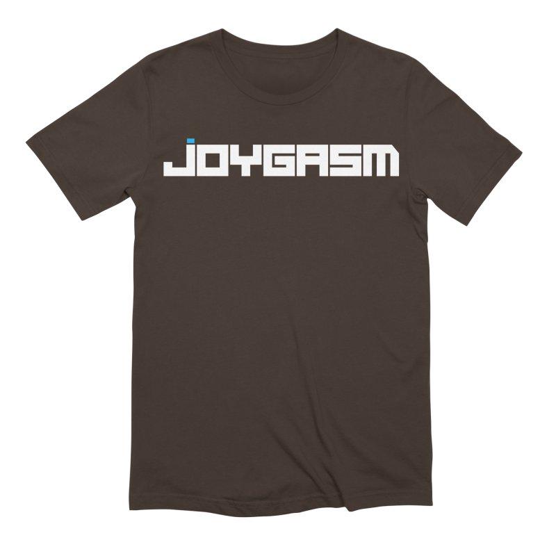 Joygasm Logo Full Name Men's Extra Soft T-Shirt by The Joygasm Store