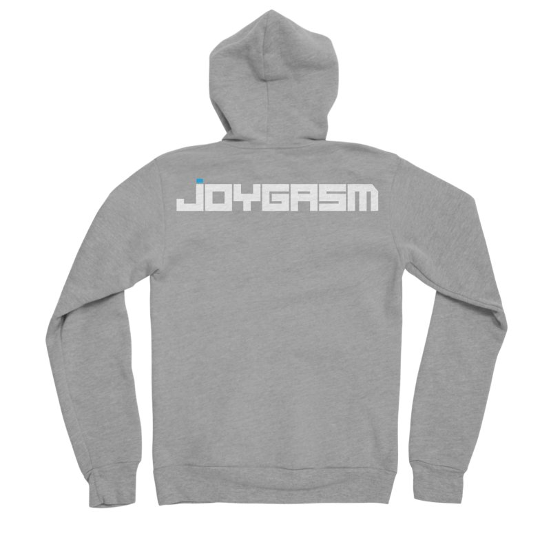Joygasm Logo Full Name Women's Sponge Fleece Zip-Up Hoody by The Joygasm Store