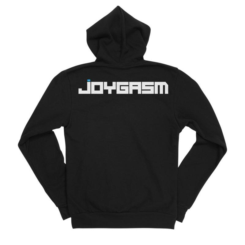 Joygasm Logo Full Name Women's Sponge Fleece Zip-Up Hoody by The Joygasm Store
