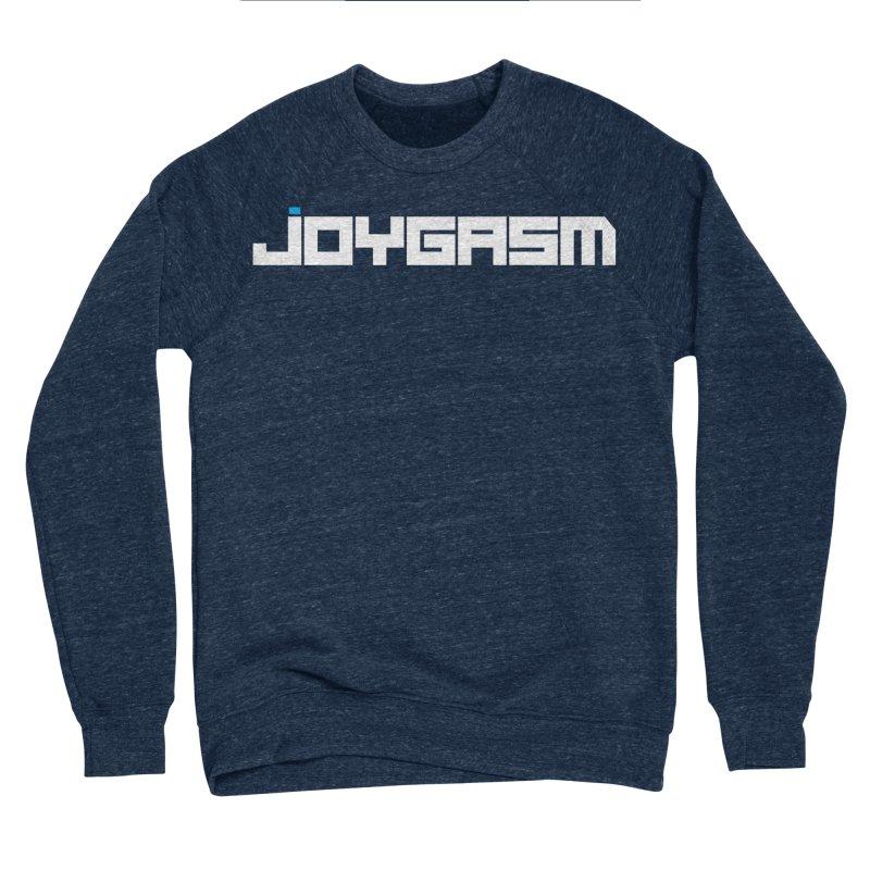Joygasm Logo Full Name Men's Sponge Fleece Sweatshirt by The Joygasm Store