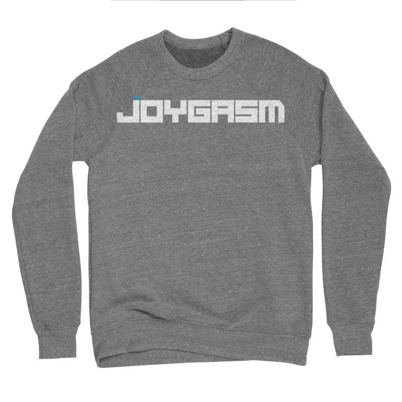 Joygasm Logo Full Name Women's Sponge Fleece Sweatshirt by The Joygasm Store
