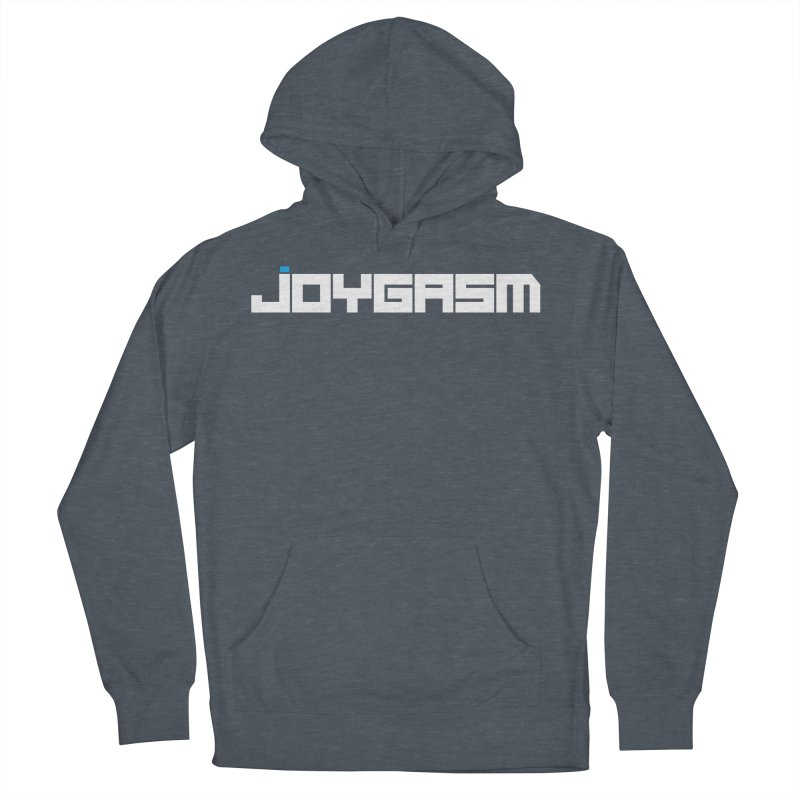 Joygasm Logo Full Name Men's French Terry Pullover Hoody by The Joygasm Store