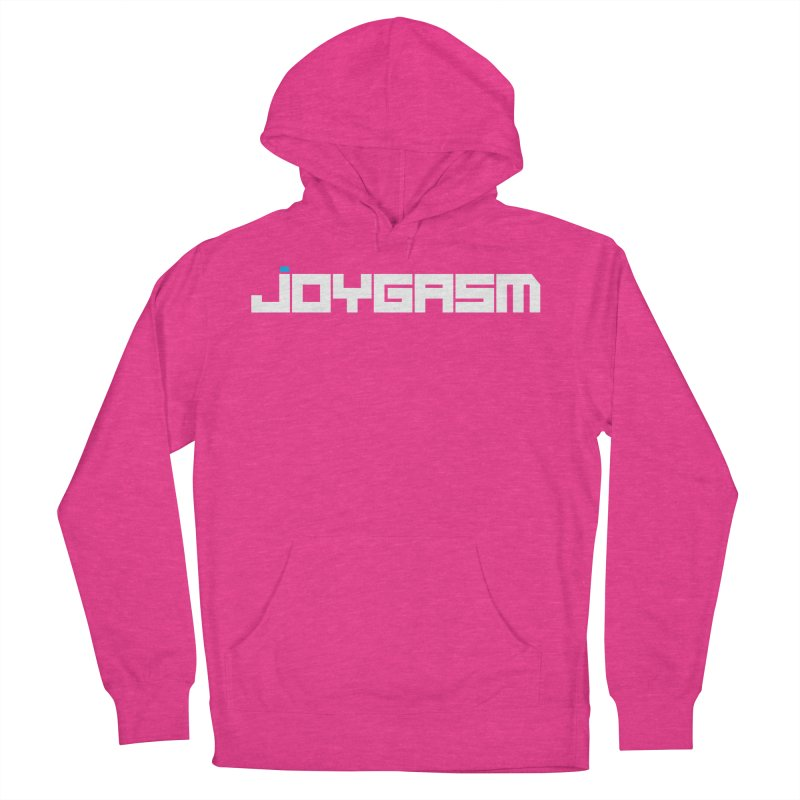 Joygasm Logo Full Name Men's French Terry Pullover Hoody by The Joygasm Store