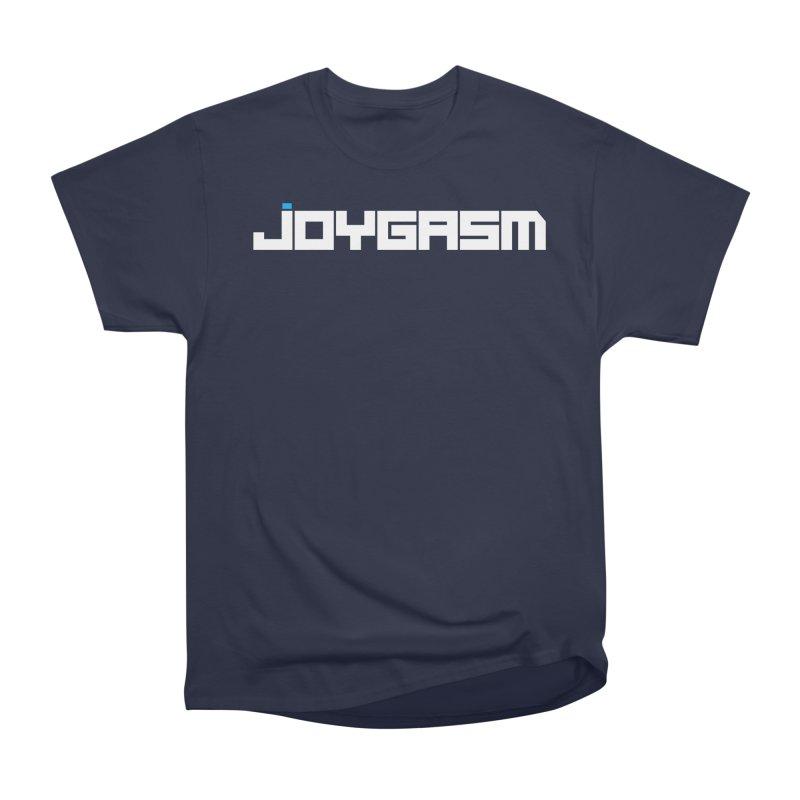 Joygasm Logo Full Name Men's Heavyweight T-Shirt by The Joygasm Store