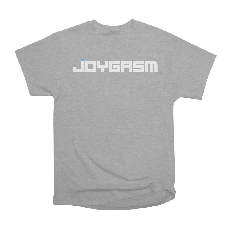 Joygasm Logo Full Name Women's Heavyweight Unisex T-Shirt by The Joygasm Store